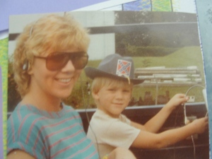 Brandon and Mommy....1984