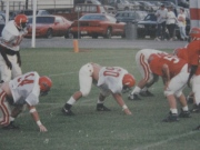 played defensive tackle throughout high school..#60