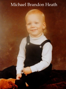 Michael Brandon Heath 2yrs. old